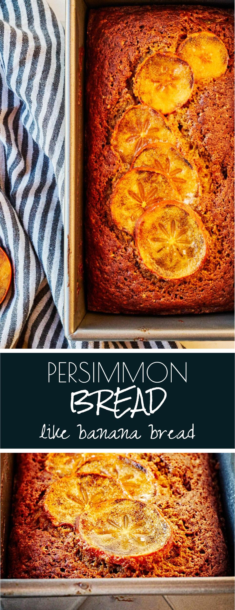 Persimmon Bread | Proportional Plate | The texture of banana bread, but even better! It\'s got all the flavors of winter, & utilizes my favorite winter fruit.