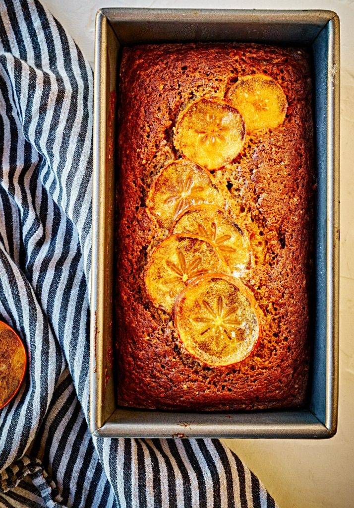 Persimmon Bread | Proportional Plate #loaf