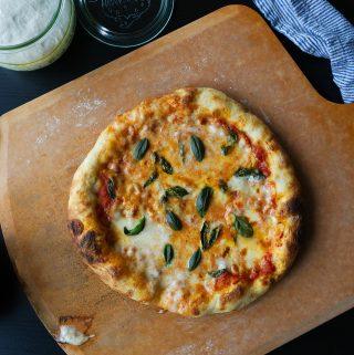 Basil & Mozzarella Pizza