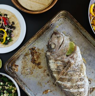 Roasted Whole Snapper (Tacos)