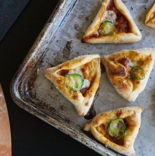 Pizzatashen (Pizza Hamantashen)