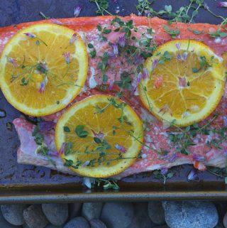 Citrus Thyme Salmon