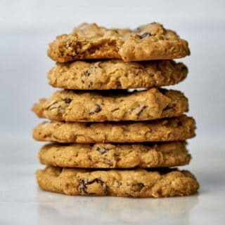 Stack of cookies.