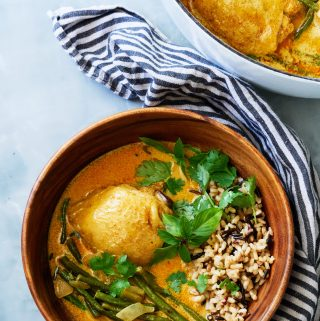 Thai Lime Coconut Curry with Chicken & Green Beans