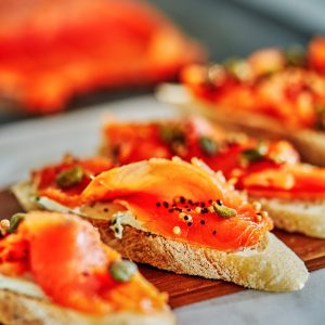 Tarragon & Fennel Scotch Cured Salmon - How to Cure Salmon   Proportional Plate