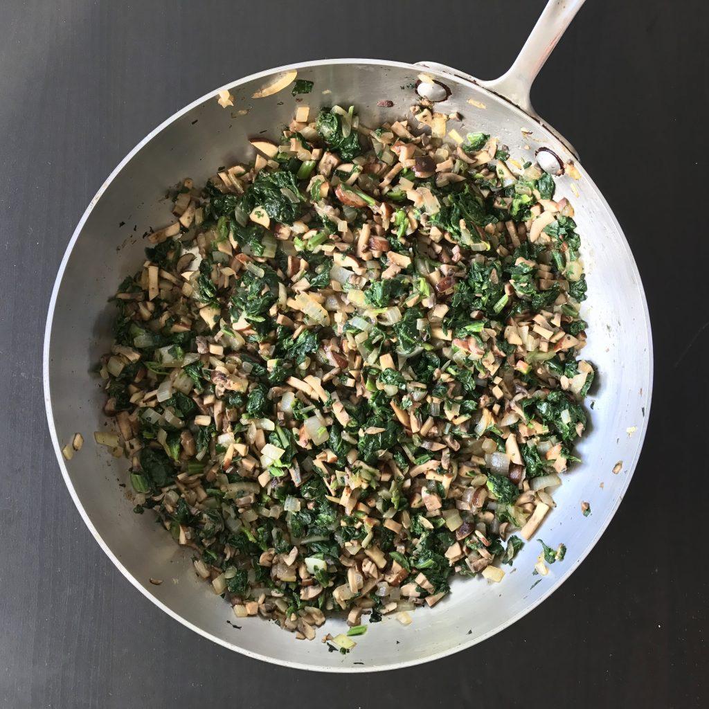 Spinach Mushroom Wonton Ravioli | Proportional Plate