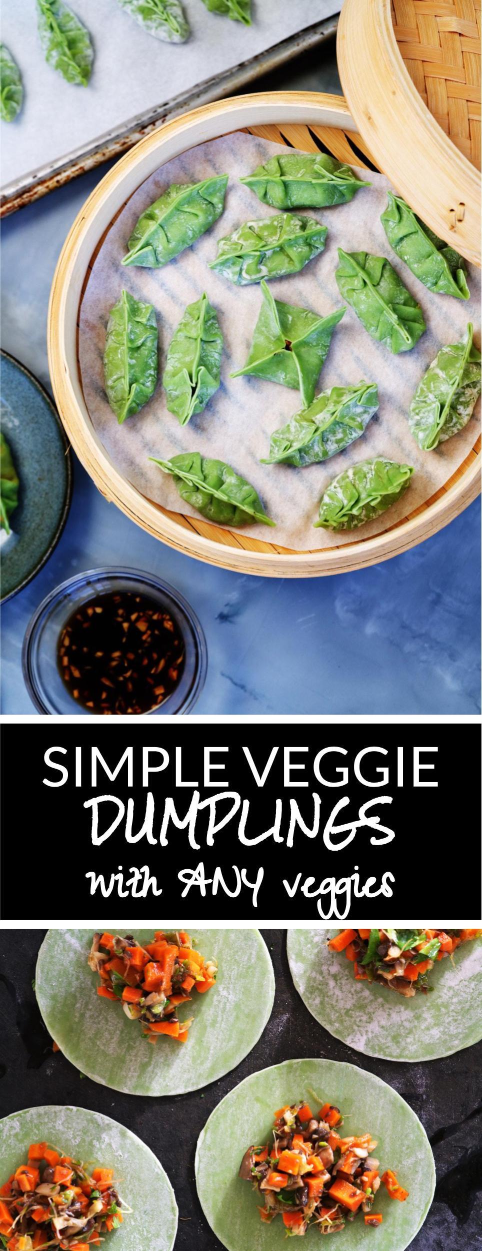 (Any) Veggie Dumplings | Proportional Plate