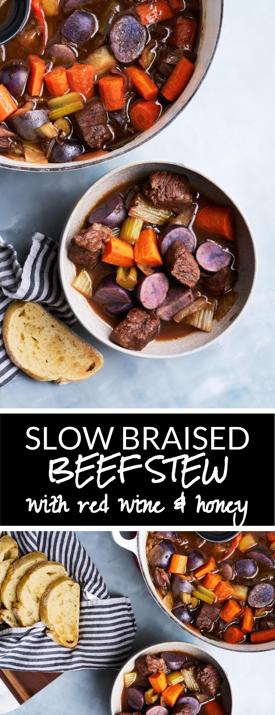 Red Wine & Honey Braised Beef Stew PLUS Fall Pantry Essentials | Proportional Plate