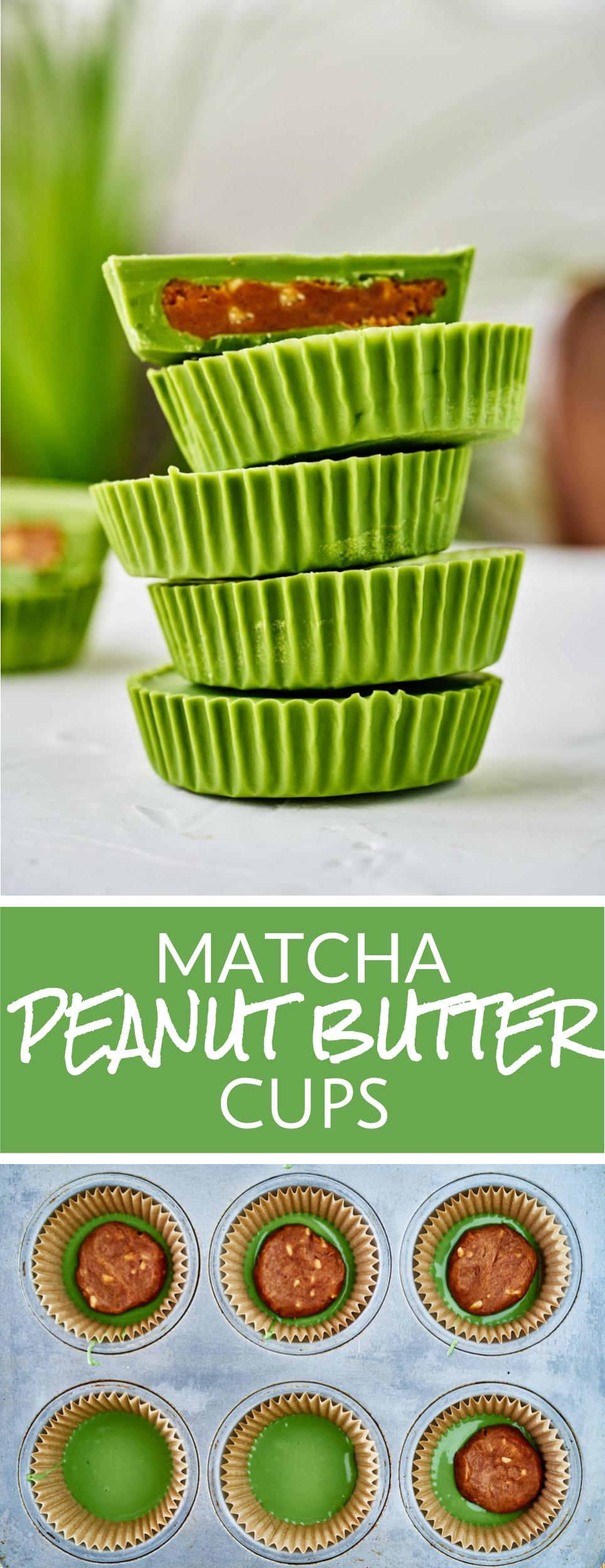 Matcha Peanut Butter Cups | Proportional Plate