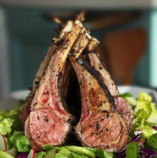 Sumac Roasted Lamb with Simple Salad