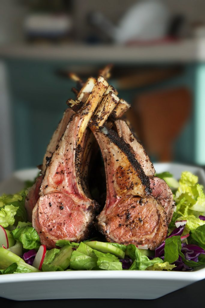 Sumac Roasted Lamb with Simple Salad | Proportional Plate