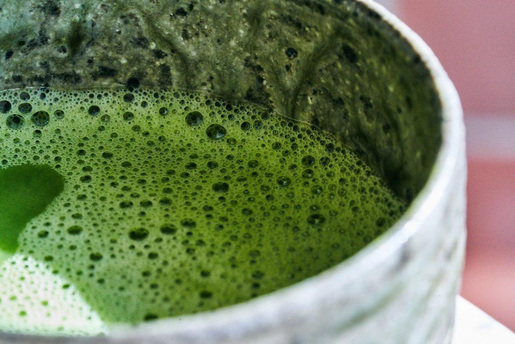 Simple Traditional 2-Ingredient Matcha | Proportional Plate Simple matcha tea. #healthycaffeine