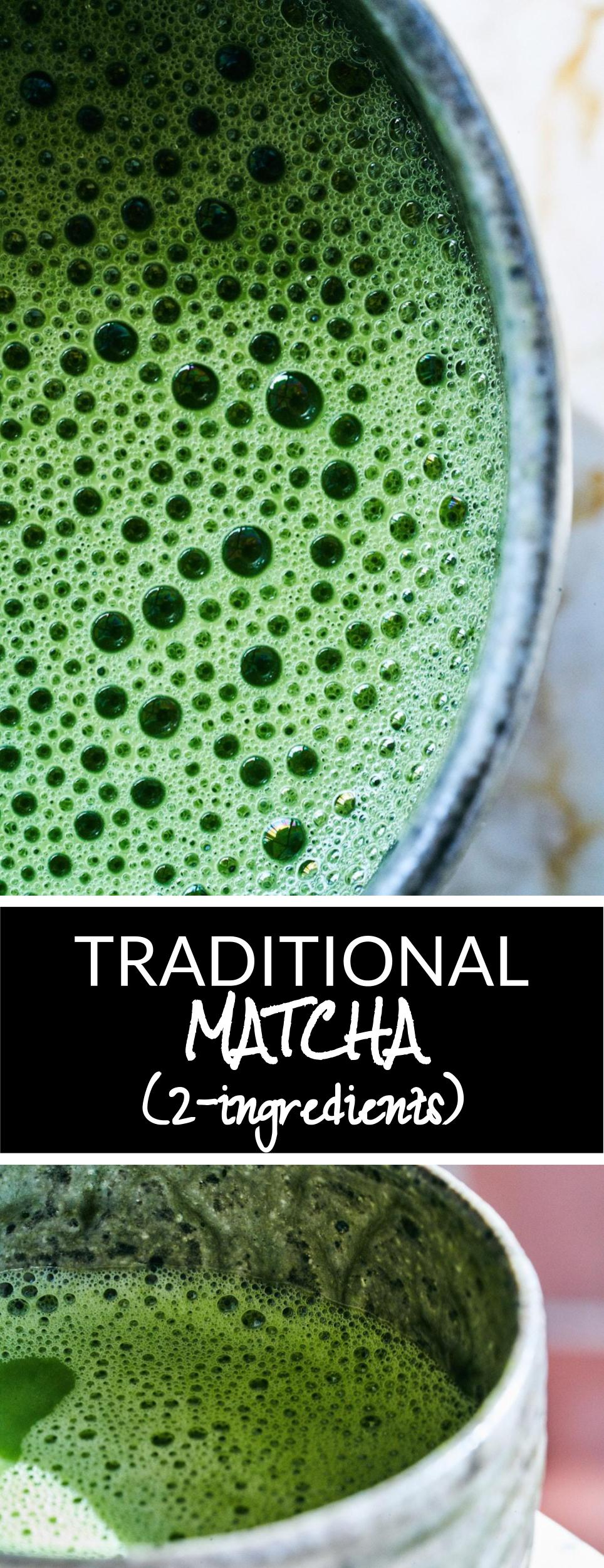 Simple Traditional Matcha | Proportional Plate