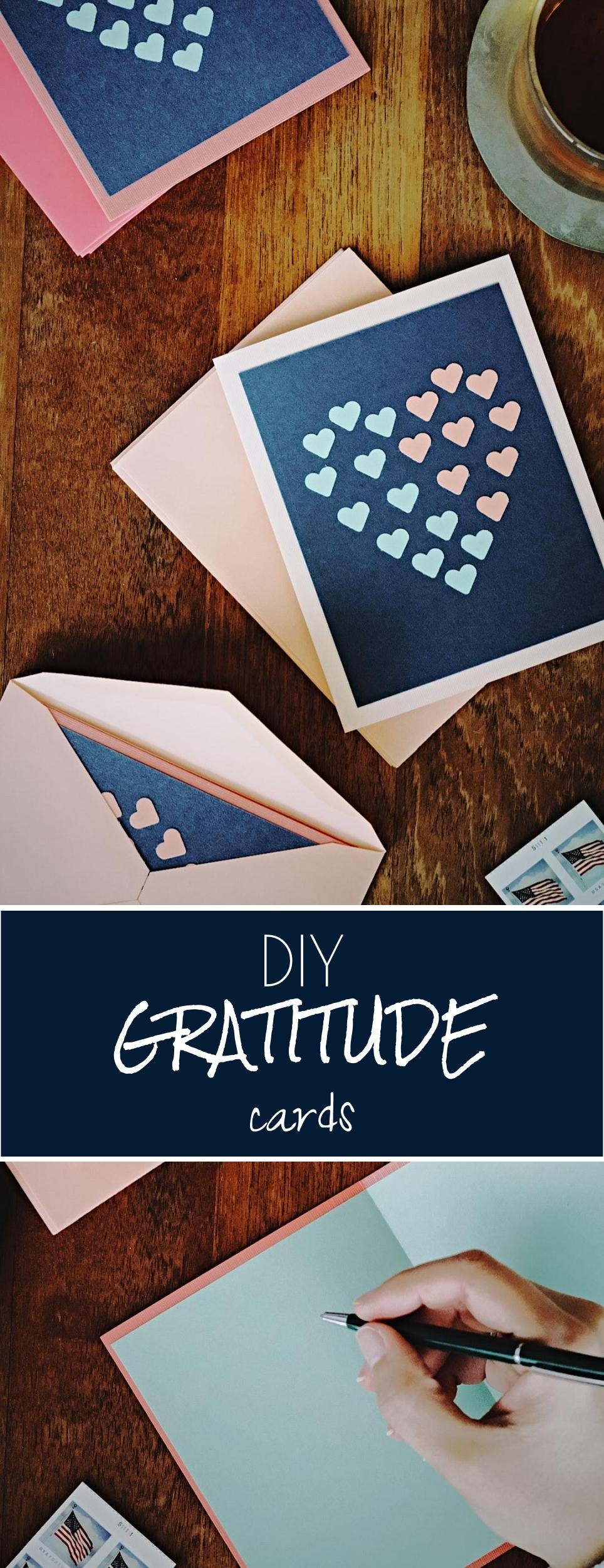 Gratitude Cards - Why you should write them, & how to make them | Proportional Plate
