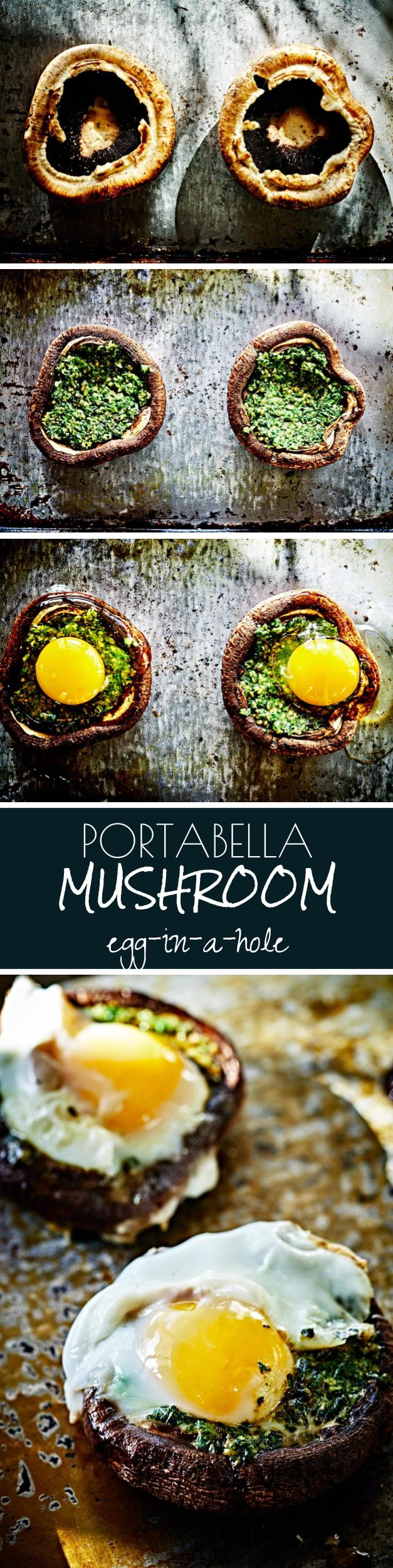 Portabella Mushroom Egg-in-a-Hole | Proportional Plate