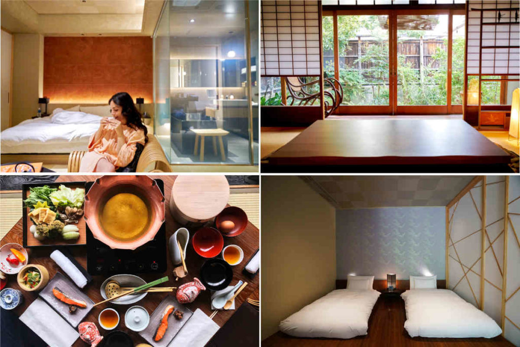 Hotels and ryokans in Japan.