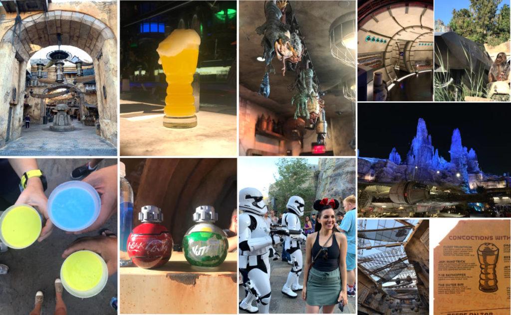 Star Wars Land at Disneyland.